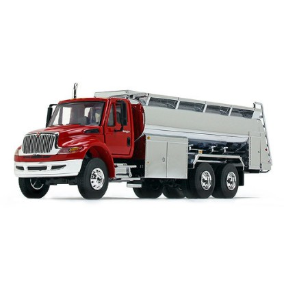Picture of IH Durastar fuel tanker  red/chrome