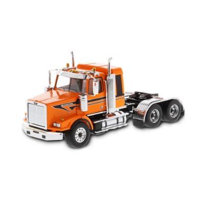Picture of Western Star 4900 SB tandem sleeper tractor - met. orange