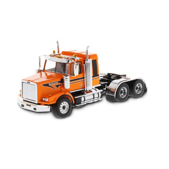 Picture of Western Star 4900 SB tandem sleeper tractor - met. orange