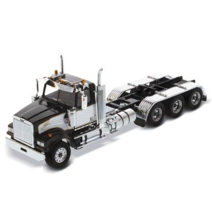 Picture of Western Star 4900 SF tridem tractor - black with white