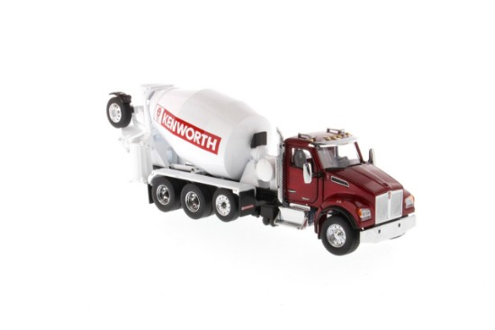 Picture of Kenworth T880 SFFA w/McNeilus concrete mixer - red/white