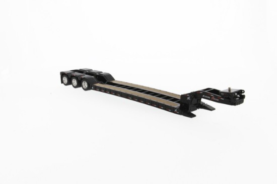 Picture of XL lowboy trailer with 2 boosters - black