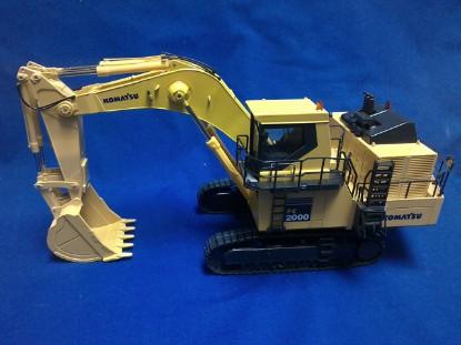 Picture of Komatsu PC2000 excavator