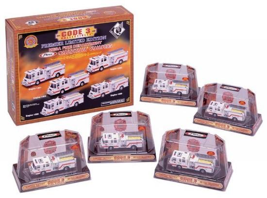 Picture of Quantum pumper Fire Truck set  5 models - MESA