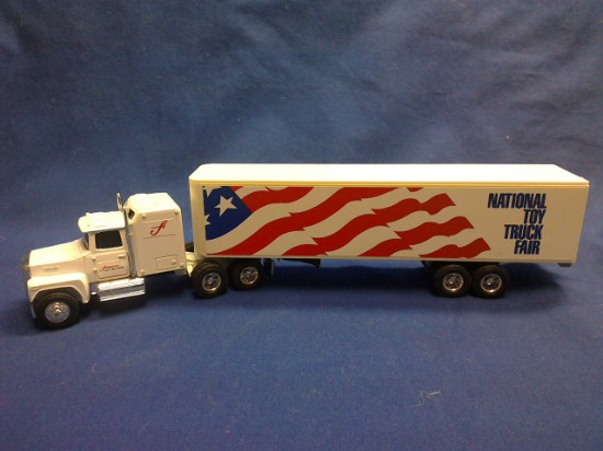 Picture of Ford LTL-9000 Sleeper National Toy Truck Fair April 10 1988