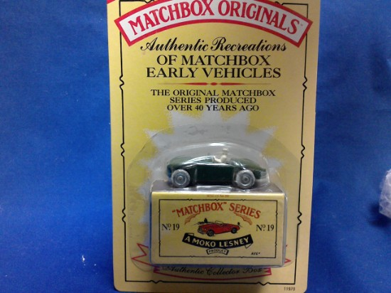 Picture of MATCHBOX ORIGINALS, AUTHENTIC RECREATIONS, NO 19, Mg Midget