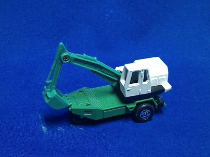 Picture of Yutani Poclain TY45 wheel excavator