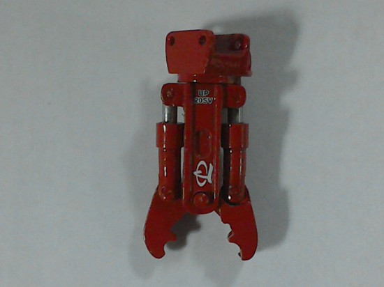 Picture of Labounty UP20 crusher attachment- red