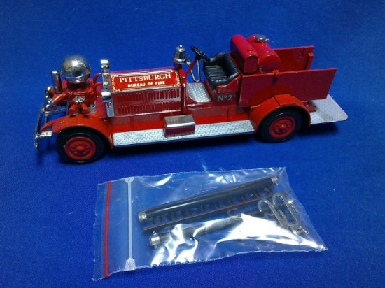 Picture of Ahrens Fox piston fire pumper - PITTSBURGH