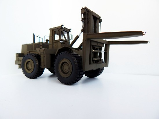 Picture of Cat RTCH wheel loader fork lift - military