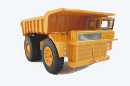 Picture of Cat 779 mining dump - First electric drive truck