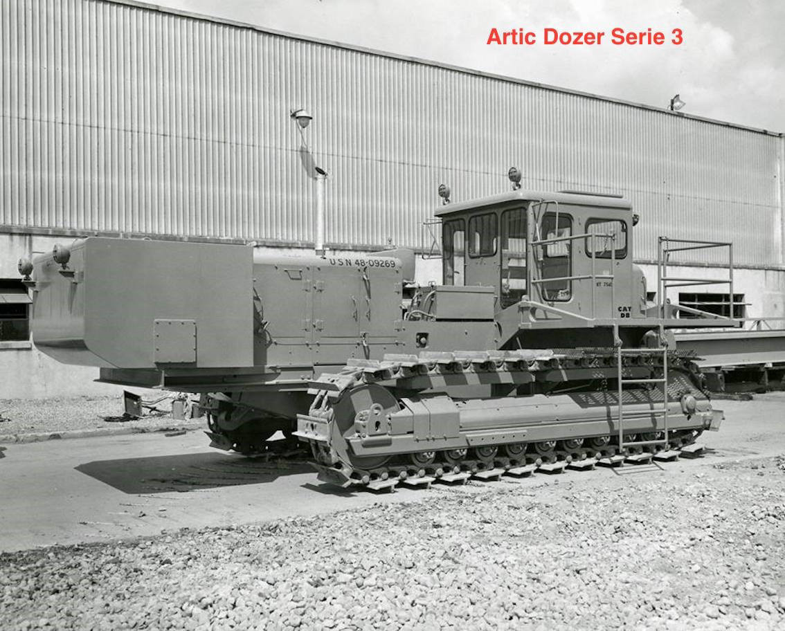 Picture of Arctic S-D8LGP snow tractor  Series 3