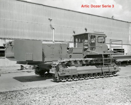 Picture of Arctic S-D8LGP snow tractor  Series 3