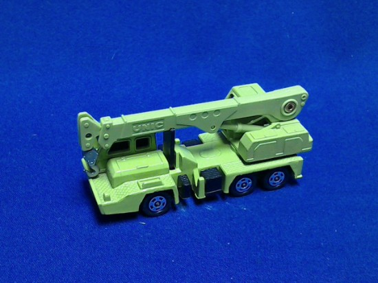 Picture of Unic truck crane on Nissan carrier - light green