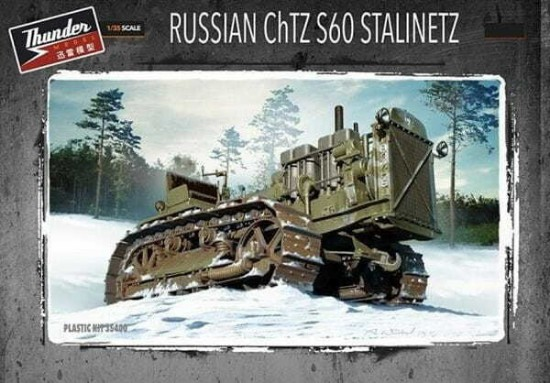 Picture of 1/35 Russian ChTZ S60 Stalinetz Tractor