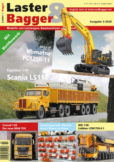 Picture of Laster & Bagger 3-2020 German- English download