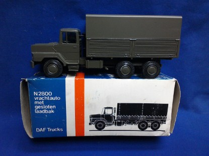 Picture of DAF N2800 military transport