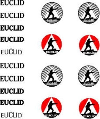 Picture of Euclid decals for DMM bottom dump