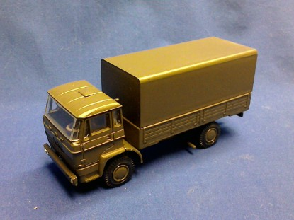 Picture of DAF F2000/2200 military transport -