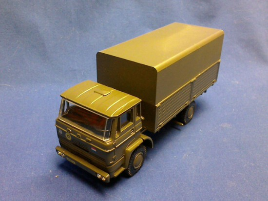 Picture of DAF 2300 military transport -