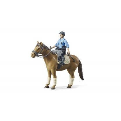 Picture of Policeman with horse
