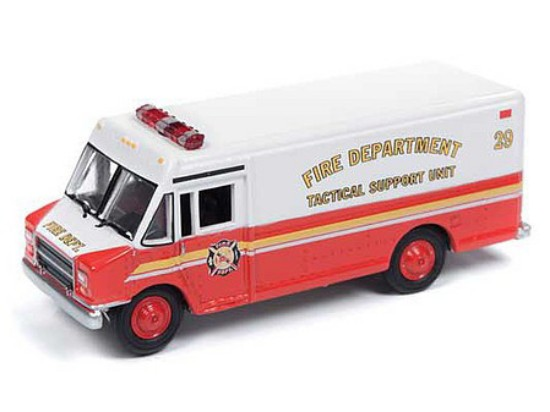 Picture of 1990's GMC Stepvan Fire Department Support Unit