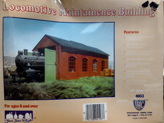 Picture of LOCOMOTIVE MAINTENANCE BUILDING
