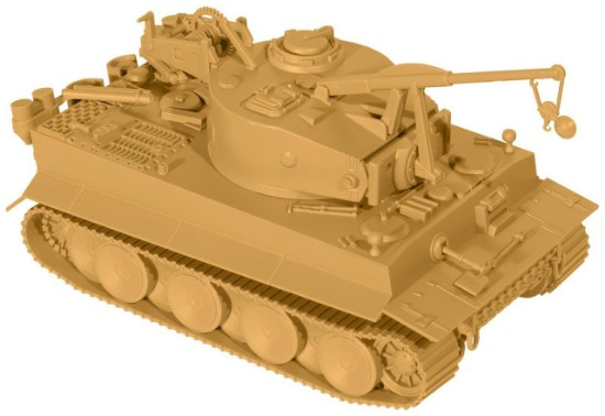Picture of Tiger 1 Recovery Tank - German WWII - Model Kit