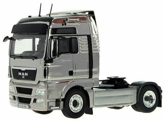 Picture of Man TGX tractor - chrome plated
