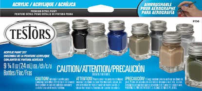Picture of Acrylic Paint Sets -- 9 Aircraft Colors