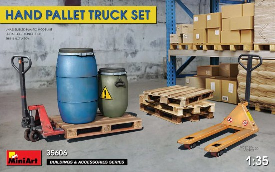 Picture of HAND PALLET TRUCK SET