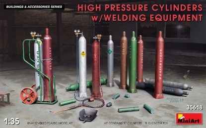 Picture of HIGH PRESSURE CYLINDERS w/WELDING EQUIPMENT