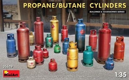 Picture of PROPANE/BUTANE CYLINDERS