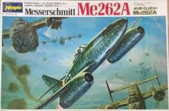 Picture of Messerschmitt ME262A Jet Aircraft