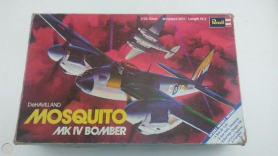 Picture of Dehavilland Mosquito MK IV Bomber