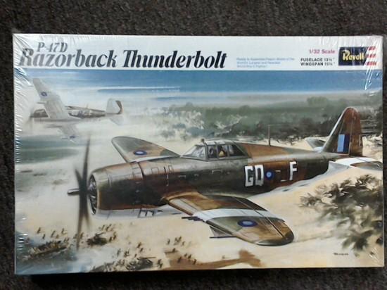 Picture of P-47D Razorback Thunderbolt-plane