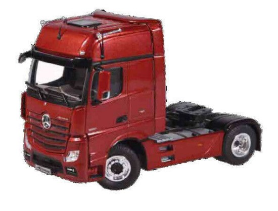 Picture of MB Actros FH25 Gigaspace 4x2 tractor - metallic red