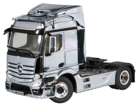 Picture of MB Actros FH23Streamspace 4x2 tractor - chrome