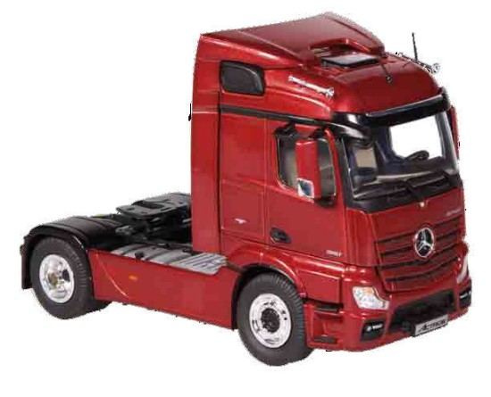 Picture of MB Actros FH23Streamspace 4x2 tractor - metallic red