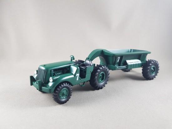 Picture of DW 10 bottom dump - dark green  HARRISON