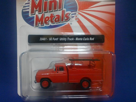 Picture of 1960 Ford Utility Truck - Monte Carlo Red