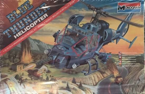 Picture of Blue  Thunder Helicopter