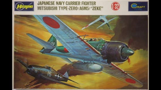 """Picture of Mitsubishi Type -Zero """"Zeke"""" Jap. Navy Carrier Fighter"""