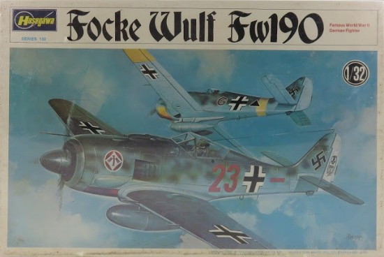 Picture of Focke Wulf Fw190 plane