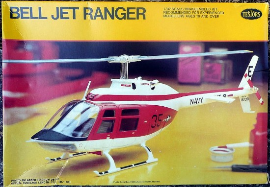 Picture of Bell Jet Ranger- helicopter