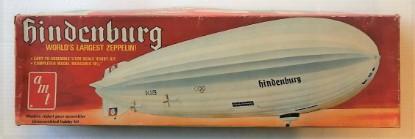 Picture of Hindenburg-   Worlds Largest Zeppelin