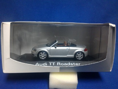 Picture of Audi TT Roadster-convertible  silver