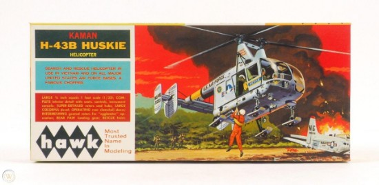 Picture of Kaman H-43b Huskie helicopter