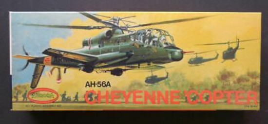 Picture of AH-56A Cheyenne 'Copter