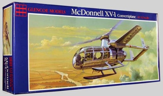Picture of Gencoe Models-Mcdonnell XV-1 Convertiplane